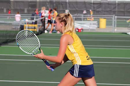 Reaching Higher: Lady Spartan Tennis
