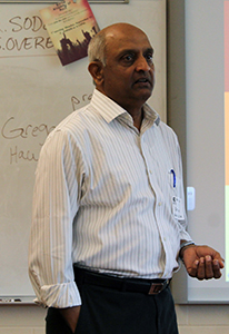 Dr. Gopal Visits the Classical Ideas and World Religions Class