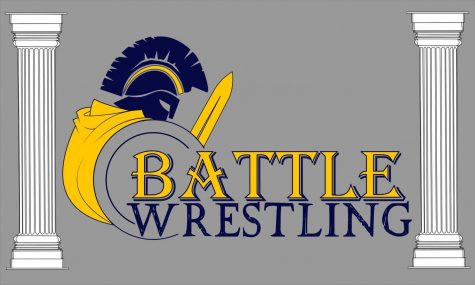 Battle's early wrestling season
