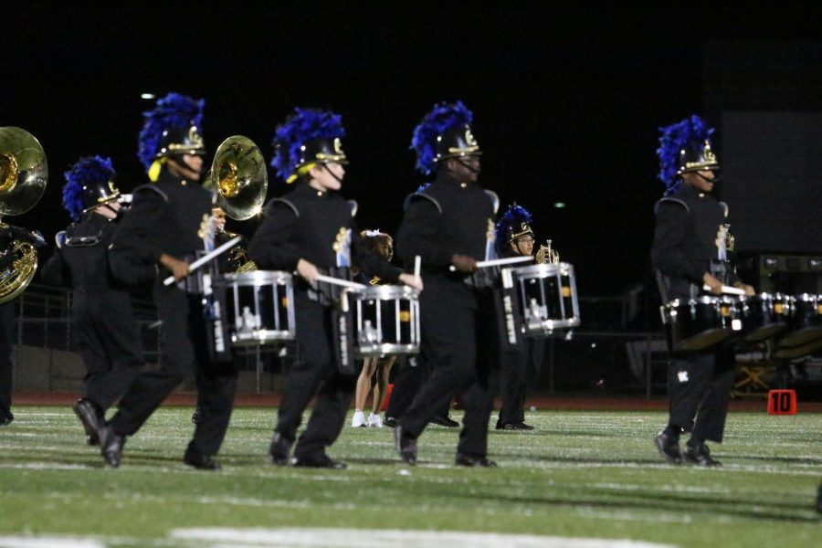 The marching band's 2018 fall show titled