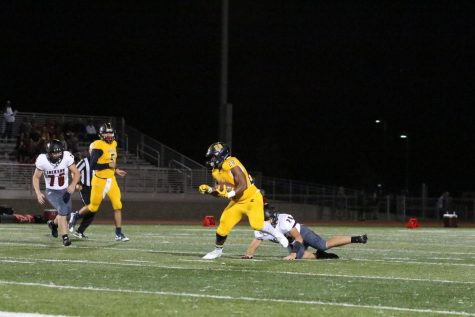 Homecoming Ends in a Loss