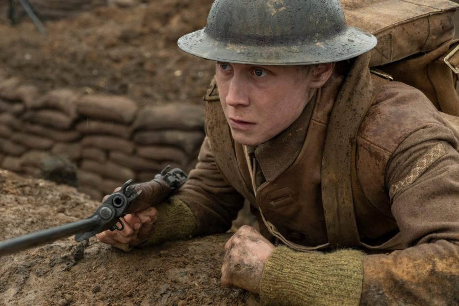 "George MacKay plays lance corporal Schofield in ""1917."" Image provided by Francois Duhamel/Universal Pictures"