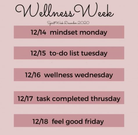 Wellness Week activities