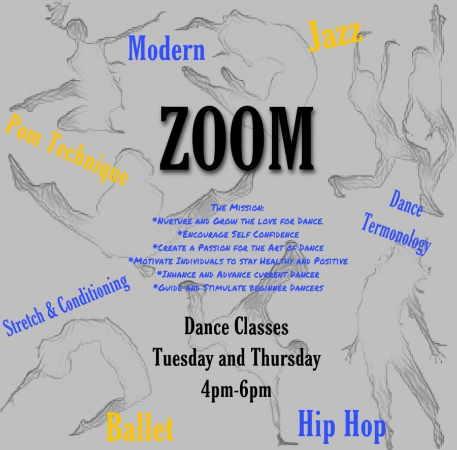 Dance classes on zoom