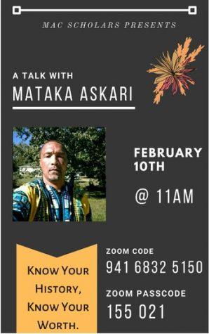A Talk With Mataka Askari
